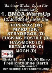 MOGH @ BMOA-Warm Up Benefiz-Konzert by lapidation2012