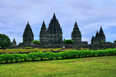 Prambanan temple by namakujonneh
