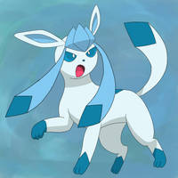 Glaceon by BBullman