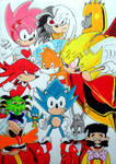 Celebrating Sonic the Comic's 20th anniversary by UltimateFrieza