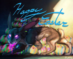 Easter bunny by BlindCoyote