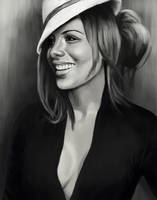 Kate Beckinsale-speedpaint by NutLu