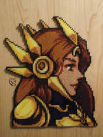 Leona Lol FE Portrait Perler Beads by Cimenord