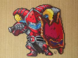 Poppy Scarlet Hammer Pixel Art by Cimenord