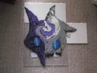 Kindred Mask perler beads Set 2 by Cimenord