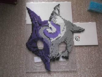 Kindred Mask perler beads Set 1 by Cimenord