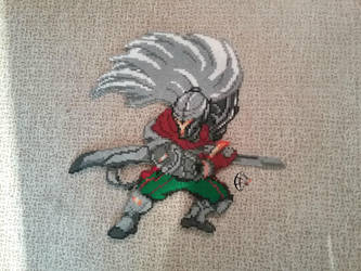 Project Yasuo - Pixel Art by Cimenord