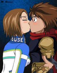 Uriko and Bakuryu by crosscutter