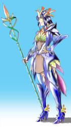 floral armour by makotosei by thmghty