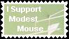 Modest Mouse Stamp by OukamiTsubasa72