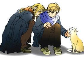 Edward.Alphonse by Rakuenflowright