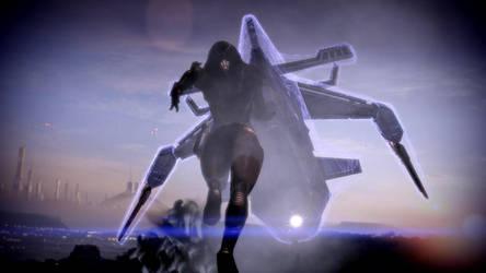 Mass Effect 2: Kasumi's Run by America007