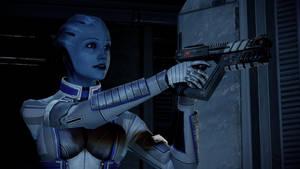 Mass Effect 2: Asari Commando by America007