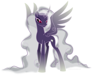 Moonlight Wraith, Stealer of Souls by aeonkrow