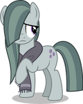 Marble Pie and Scarf by aeonkrow