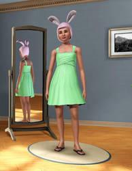 Louise Belcher in Sims 3 by Mikeyfan93