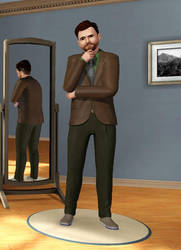 Kyle Kalgren in Sims 3 by Mikeyfan93