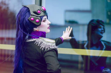 widow reflection by patecroute