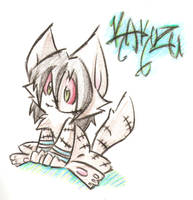 Kakuzu Kitty by RazinOats