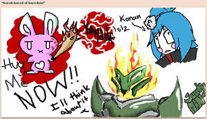 Iscribble doodle by RazinOats