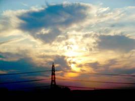 sky above by Fluorography