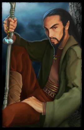 Elrond War Face