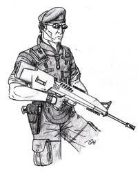 NAA Soldier - Redux update by Tensen01