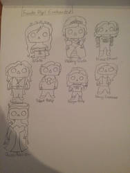 Funko Pop Enchanted Sketches by AmazingArtist13