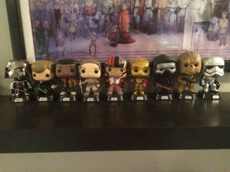 My Funko Pop Star Wars Collection by AmazingArtist13