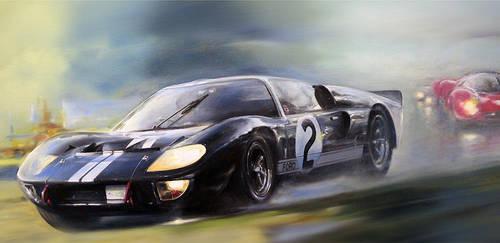 1966 Le Mans by donpackwood