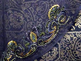 Ms. Peacock - Beading by Naboo-Girl