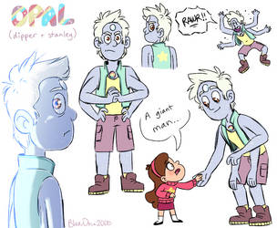 Opal (Dipper + Stanley) by BlueOrca2000