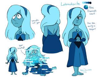 Labradorite by BlueOrca2000