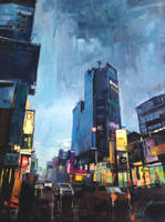 Tainan Nightscape by ilyagalayda