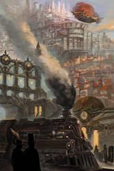 Steampunk City! by DarnisArt