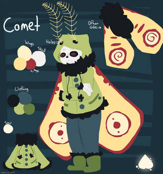Comet Reference by IsabellaGraceS