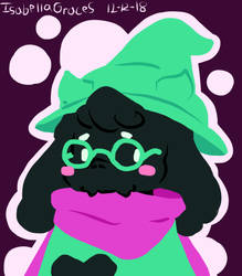Ralsei by IsabellaGraceS