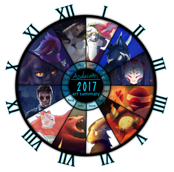 2017 Year Summary by azulacat14