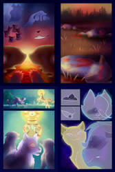 Moonie Comic Pages 5-8 [UNFINISHED] by azulacat14