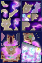 Moonie Comic Pages 9-12 [Unfinished] by azulacat14