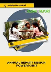 Annual report design PowerPoint by designmyreport