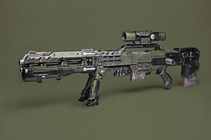 Nerf Longshot CS-6 WWII Mod by meandmunch