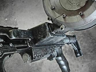 Nerf Raider Zombie Gun 3 by meandmunch