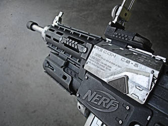 Nerf Recon M4 2 by meandmunch