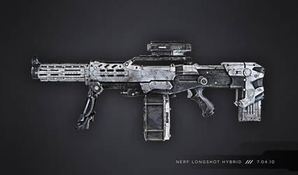 Nerf Longshot Hybrid by meandmunch