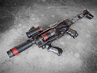 Nerf Spectre Steampunk SWAT B by meandmunch