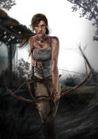 Lara Croft Reborn by AngelitaRamos
