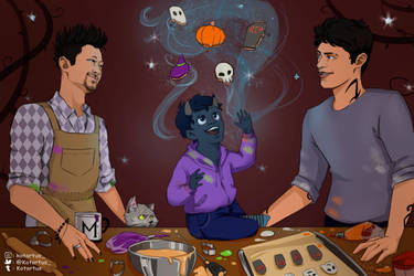 Malec halloween by NopeXKot