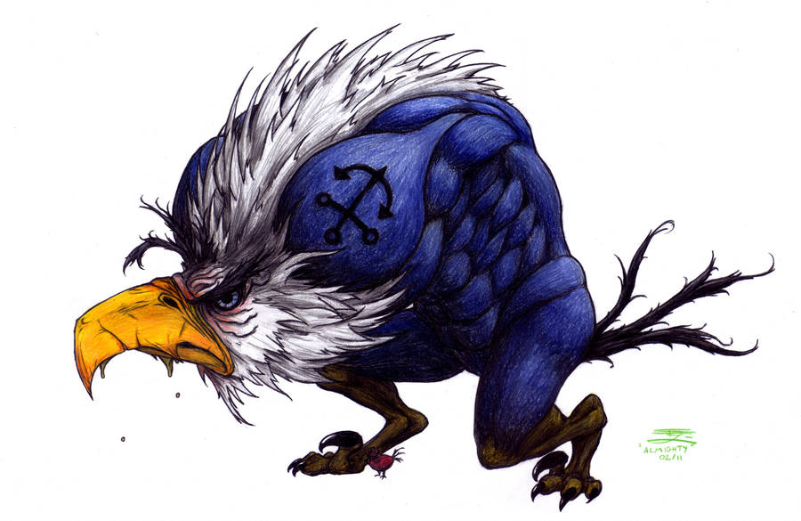 Mighty Eagle by The-Bambookazee