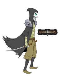 League of Legends - Thief Shaco by Pejota1